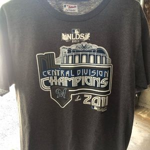 2011 NLDS Milwaukee Brewers Champs t shirt (Med)
